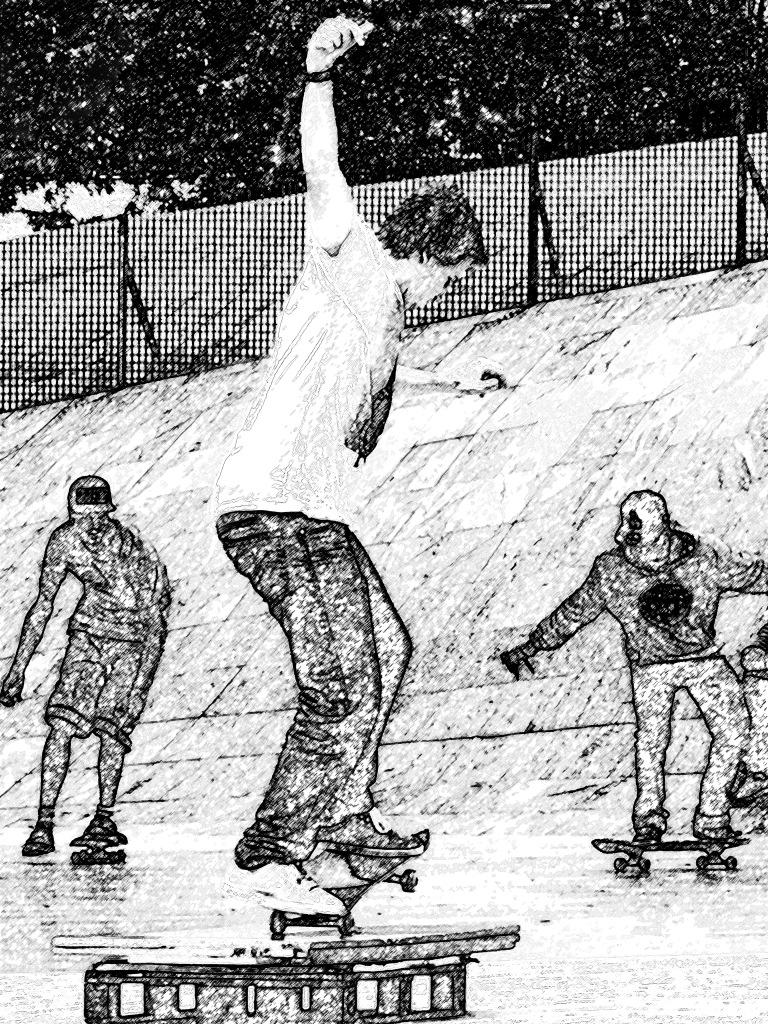 Skateboarding Porto