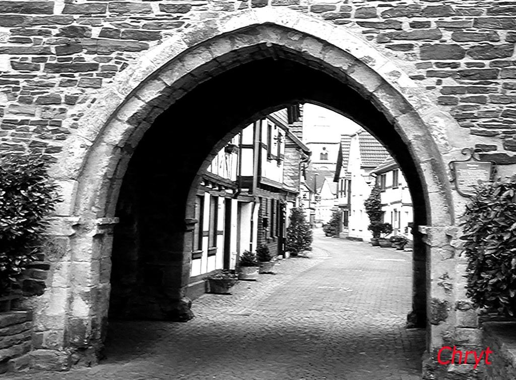 Medieval gate, Unkel, Germany